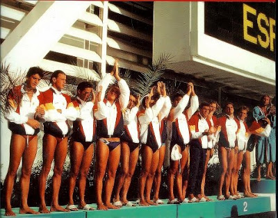 españa waterpolo 1992