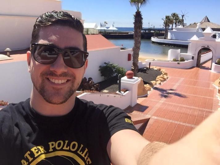 Disfrutando de la Copa Máster en Lanzarote