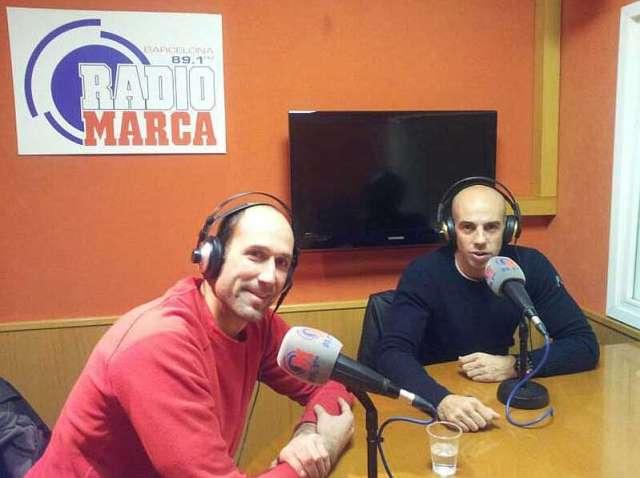 Dani Ballart y Ángel Andreo