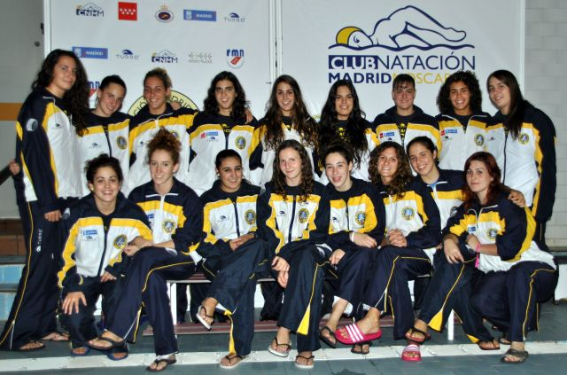 División de honor femenina de waterpolo CN Moscardó
