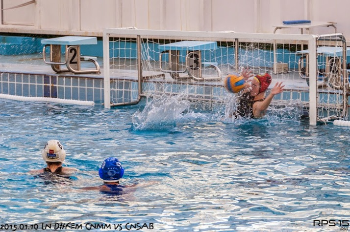 porteros de waterpolo