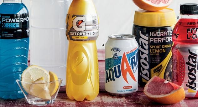 bebidas isotonicas refrescantes y rehidratantes