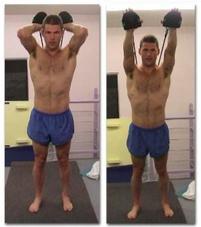 extensión de tríceps