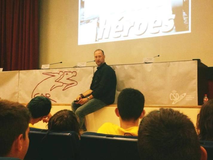 Pedro García Aguado charla en BIWPA