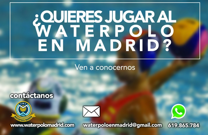 jugar waterpolo madrid