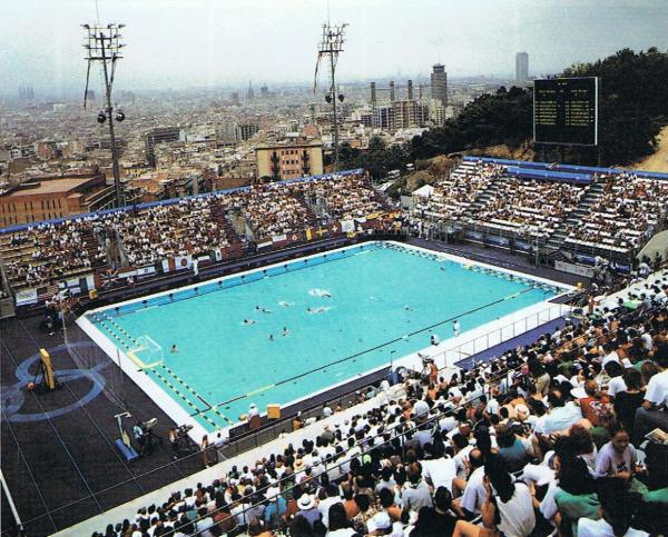 1992 espa a subcampeona ol mpica en barcelona waterpolo for Piscina olimpica madrid