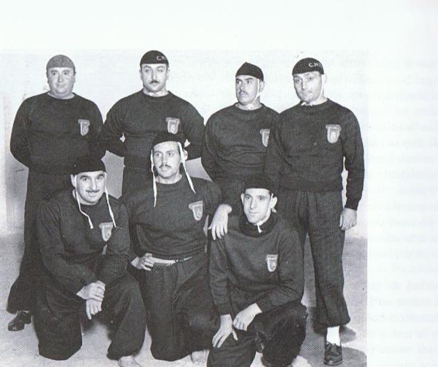 selección nacional waterpolo 1945